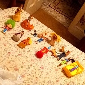 Vintage 1990s happy meal toys